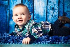 7-Monats-altes Baby Stockfotografie