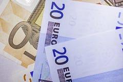 Monay Euro Stockfotografie