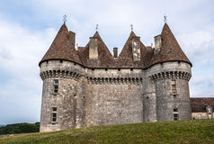 Monbazillac Castle with vineyard, Aquitaine, France Stock Photo