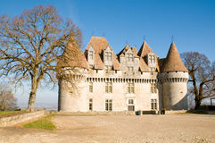 Monbazillac Chateau Royalty Free Stock Photos