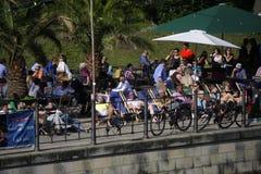 Monbijou Park Berlin Stock Image
