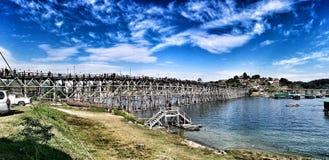 Monbrug Stock Foto