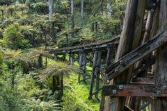 The Monbulk Trestle Bridge Royalty Free Stock Photo