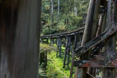 The Monbulk Trestle Bridge Stock Images