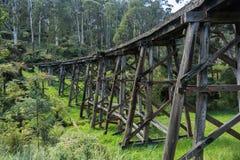 The Monbulk Trestle Bridge Royalty Free Stock Photography