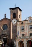 Moncalieri center in the province of Turin in Piedmont (Italy) Stock Photography