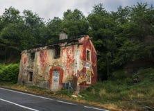 Moncenisio droga, Włochy Obrazy Stock