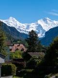 Monch en Jungfrau Stock Fotografie