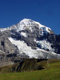 The Monch mountain in Switzerland Stock Image