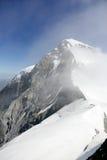 Monch peak in Jungfrau region Royalty Free Stock Photo
