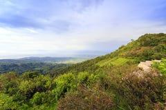 Moncham mountains at Chiangmai Thailand Royalty Free Stock Image