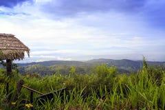 Moncham mountains at Chiangmai Thailand Royalty Free Stock Photo