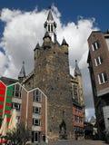 Monchau的,德国教会 免版税图库摄影