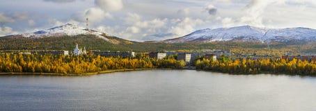 Monchegorsk 免版税库存照片