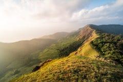 Monchong charmigt berg Arkivbilder