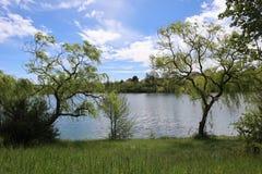 Monclar de Quercy - Lac royalty free stock images