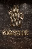 Moncler Logo Stock Images