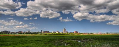 Moncton, New-Brunswick Stockbild