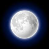 Mond vektor abbildung