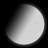 Mond-Abbildung Stockbild