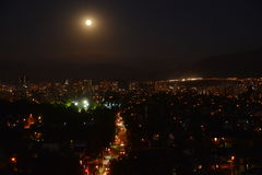 Mond in Chile Stockbilder