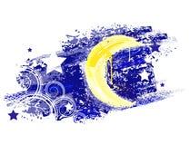 Mond gemalt