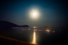 Mond-Licht Lizenzfreie Stockfotografie
