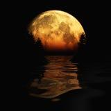 Mond-Steigen Lizenzfreie Stockfotografie