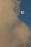 Mond und Wolke Stockfotos