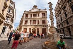 Mondaine aspecten van het leven in Cuba Royalty-vrije Stock Foto's