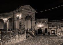 Mondaino (Римини) Стоковые Изображения RF