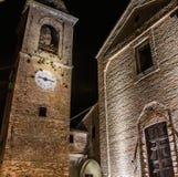 Mondaino (Rimini). Malatesta castle. Malatesta castle in Mondaino (Rimini). Emilia-Romagna, Italy Stock Photos