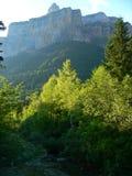 Mondarruego, Ordesa ( Spain ). Mondarruego mountain in Ordesa National Park, Huesca (Spain Stock Photos