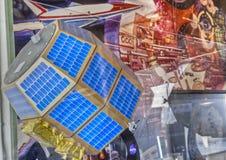 Mondatmosphären-und Staub-Umgebungs-Forscher lizenzfreie stockfotografie