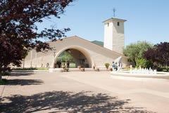 Mondavi wytwórnii win budynek w Oakville, Kalifornia obraz stock