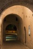 Mondavio (марты, Италия) к ноча Стоковое Изображение