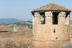 Mondavio (marços, Itália) Fotografia de Stock Royalty Free