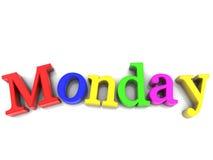 Monday Stock Photography