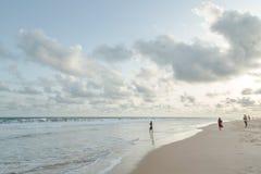 Monday afternoon at Obama Beach, Cotonou Royalty Free Stock Photo