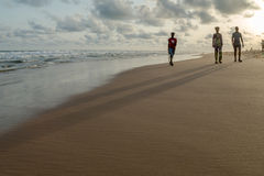 Monday afternoon at Obama Beach, Cotonou Stock Photos