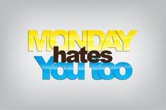 Monday Background Royalty Free Stock Photo