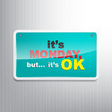 Monday Background Stock Photography
