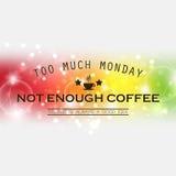 Monday background Stock Photography