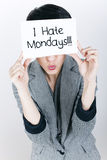 Monday Royalty Free Stock Photos