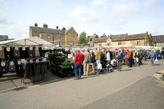 Monday Market, Bakewell, Derbyshire. Royalty Free Stock Image