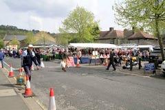 Monday market, Bakewell, Derbyshire. Stock Photo