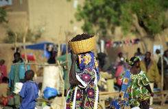 Monday market, Djenne, Mali Stock Photos