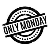 Only Monday rubber stamp Stock Photography