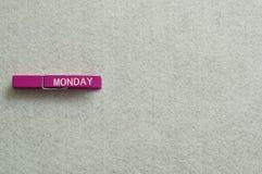 Monday Stock Image