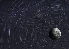 Mondbild der hohen Qualität Elemente dieses Bildes lizenzfreies stockbild